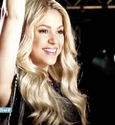 Shakira Crest 3D White